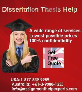 Any company that can help others in dissertation